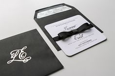 Minted black tie: Lusanne and Ernst's wedding as featured on Wedding Album magazine's website. Black Tie Wedding, Wedding Ties, Wedding Album, Magazine Website, Save The Date, Stationery, Mint, Invitations, Inspiration