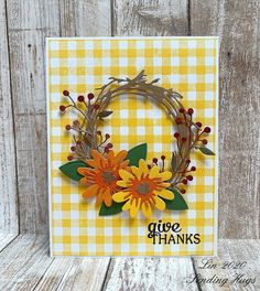 Sending Hugs: Thankful Wreath