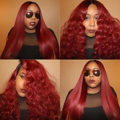 When you can't decide so you just do it all lol ! @rpgshowwig full lace wig , originally...