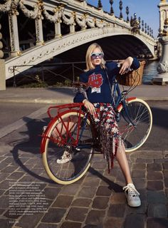 Charlene Hogger takes Paris in haute couture for Elle US January 2016 by David Burton [fashion]| @andwhatelse