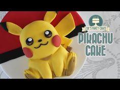 How to make Pikachu Pokemon cake/ เค้กโปเกมอน - YouTube
