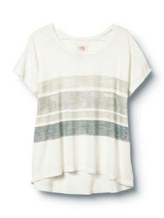 Sketched Stripe Tee - Quiksilver