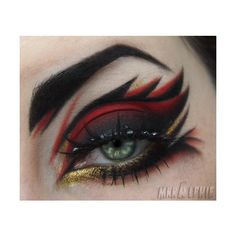 Bats are everywhere ❤ liked on Polyvore featuring beauty products, makeup, eye makeup, eyes, beauty and eye shadow