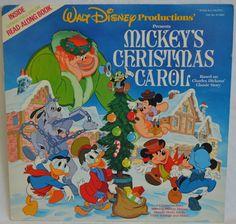 Vintage Disneyland Story Teller Record Mickey's by FloridaFinders, $6.00