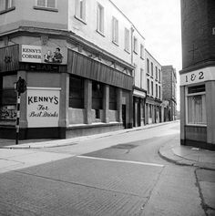 Kenny's on Golden Lane Dublin Street, Dublin City, Old Pictures, Old Photos, Dublin Ireland, Street View, Architecture, Buildings, Memories