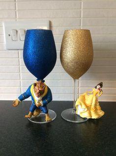disney wine glass - Google Search