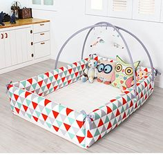 Maming Baby Bumper Bed Crib Bumper (Triangle) Maming