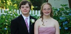 Long Island teens with Down syndrome voted prom king, queen. Meghan Latini and Brendan Higggins. Love this.