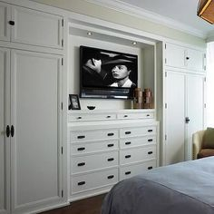 Built In Cabinets, Transitional, bedroom, Cindy Ray Interiors