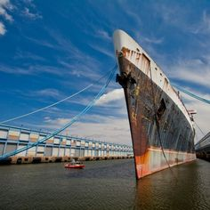 At the time of her launch in 1951, SS United States held a number of records. But the future of America's last great ocean liner hangs in the balance. Discover her history here, and taken a rare glimpse inside her elegant superstructure.