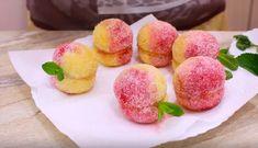 """Prăjiturile """"Piersicile"""" — o adevărată capodoperă culinară! - Retete Usoare Muffin, Peach, Fruit, Breakfast, Food, Morning Coffee, Peaches, Eten, Cupcakes"""