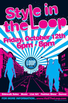 Style in The Loop Friday, October 12, 5-8p