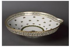 Milk dish ordered by Marie Antoinette and use at her dairy at Versailles