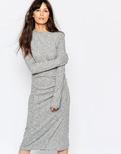 Just+Female+Picnic+Knit+Top+in+Grey