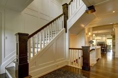 craftman staircase | Fabulous City Living - craftsman - staircase - calgary - by Rockwood ...