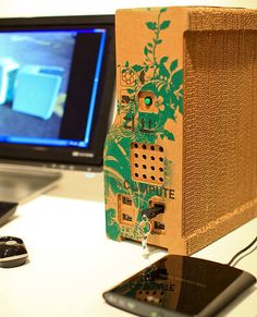 Recompute Sustainable Cardboard Computer. Cool.