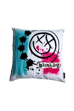 Untitled Pillow from Blink-182 Merch