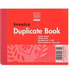 "Buy the new ""Silvine Duplicate Book Invoice 4x5 616 Pk12"" online today. Now in stock."