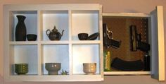 The Numerous Faces of the Hidden Compartment Furniture - shadow box
