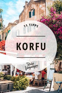 Hilly landscapes, countless olive trees, small mountain villages and dream beaches with turquoise blue water that you simply want to jump into: is rightly one of the most popular holiday destinations in We have the 11 best Corfu tips for you. Vacation Places, Best Vacations, Vacation Destinations, Corfu, Medan, Diving Lessons, Decoration Gris, Popular Holiday Destinations, Blog Fotografia