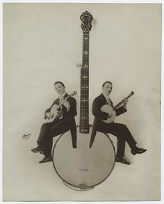 Banjo Players by New York Public Library, via Flickr
