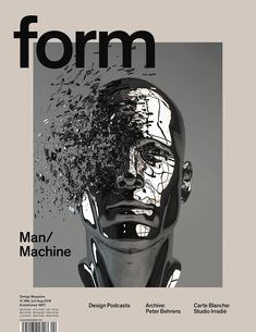 form N° 266. 2016. Man/Machine. Art Direction: Carolin Blöink, Susanne Heinlein, Sarah Schmitt; illustration: Grégoire A. Meyer © Verlag form GmbH & Co. KG