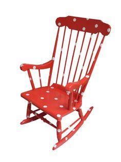Polkadot chair