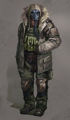 Latter-day Picture  (2d, character, soldier, post apocalyptic)