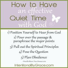 Intentional Conversation: How to Have an Effective Quiet Time {Part 3}