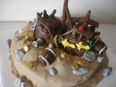 Doces Arte Piratas cakepins.com