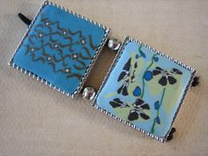 2PCS  Polymer Clay Pendants with Drilled Hole  Mixed by ZARDENIA, $4.00