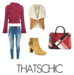 """""""Untitled #123"""" by wallan on Polyvore featuring 10 Crosby Derek Lam, Ted Baker, Burberry and Tabitha Simmons"""