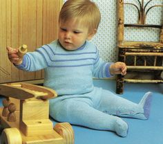 Knitting and Crochet Baby Clothes Pattern by LoveFromNewZealand