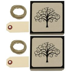 Tree of Life Kraft Gift Boxes Set of 2 -- Additional details at the pin image, click it  : Wrapping Ideas