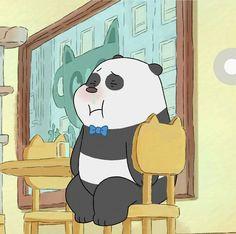 #WeBareBears #Panda We Bare Bears Wallpapers, Panda Wallpapers, Cute Cartoon Wallpapers, Ice Bear We Bare Bears, We Bear, Cartoon Network, Bear Pictures, Cute Pictures, Panda Images