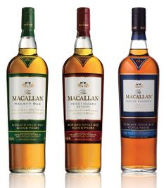 The Macallan (Speyside scotch whisky).