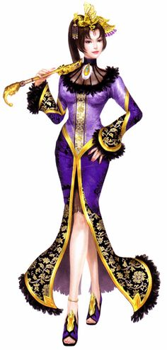 Zhen Ji. One day I'd love to cosplay her in her dynasty warriors 4 costume.