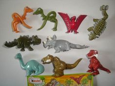 Kinder Surprise Set Natoons Dinosaurs 2010 Figures Collectibles | eBay