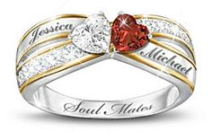 Custom Promise Rings for couples, engraved diamond promise Rings, personalized promise rings, Loves Promise Rings True @ http://www.flowinglove.com/relationships/index.php/gifts/109/diamond-promise-rings-her/