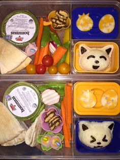 https://flic.kr/p/xZ97ms | Bento Lunches by Meagan Johnson www.adventuresineverydaylife.com | Kitty Onigiri  Bento Lunch made by Meagan Johnson Images are Copyrighted. Do Not Use without Permission.
