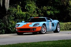 Stunning #Mecum Auctions Ford GT Heritage Edition #Kissimmee #WhereTheCarsAre