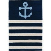 Found it at Wayfair - Tufted Pile Sailor Blue Area Rug