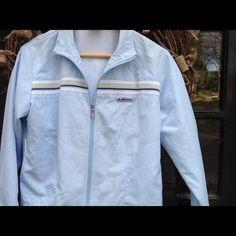 Vintage 1980's Ellesse Tennis Jacket - size 12 Very gently worn.  This jacket is in great condition and is a serious flashback to the good old days.  Super cute. Ellesse Jackets & Coats
