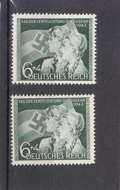 Deutsches Reich 1943 TAG DER JUGEND Mi.Nr.843