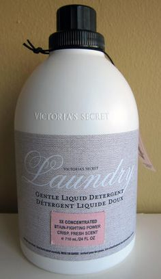 Victoria's Secret Laundry Soap. It's Back!!! I love this soap! It's sold in the stores.