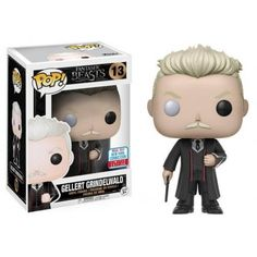 Funko Gellert Grindelwald, Fantastic Beasts and Where to Find Them, NYCC 2017 Exclusive, Animais Fantásticos e Onde Habitam, Funkomania