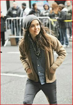 I am only slightly completely in love with Ellen Page