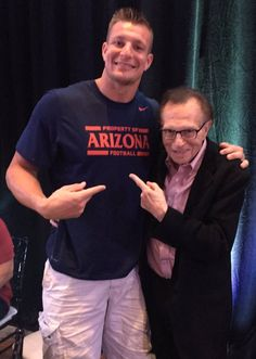 Gronk and Larry King