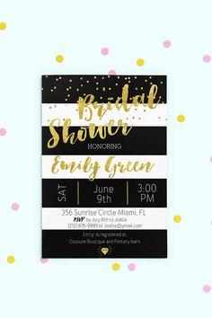 Bridal Shower Invitation Printable Bridal Shower by AlniPrints  #Bachelorette #Bridal #Shower #Invitation #brunch #idea #invite #Lingerie #party #dinner