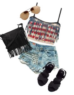 Fourth of July outfit idea!